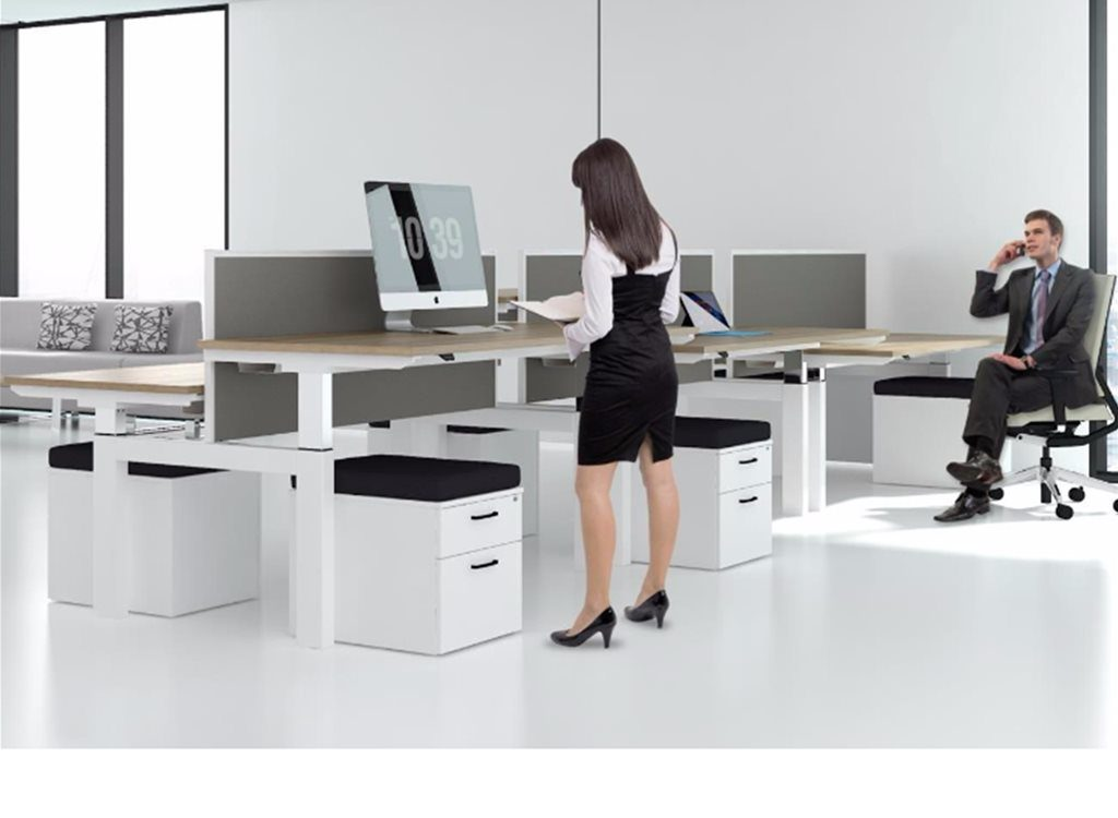 Working long hours? Your employees might need Sit-Stand Office Workstations 1