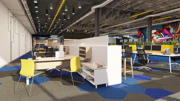 Office Workstations Installed Brisbane CBD
